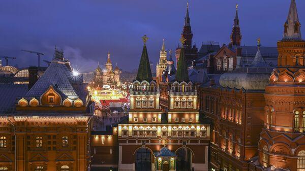 Moskwa, okolice Kremla - Sputnik Polska