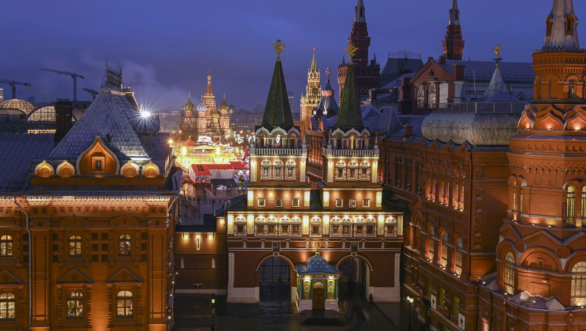 Moskwa, okolice Kremla - Sputnik Polska, 1920, 07.04.2021