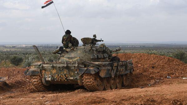 Armia syryjska w Aleppo - Sputnik Polska