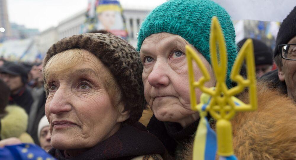 Zwolennicy eurointegracji protestują w Kijowie