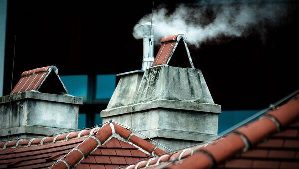 Dym z komina - Sputnik Polska