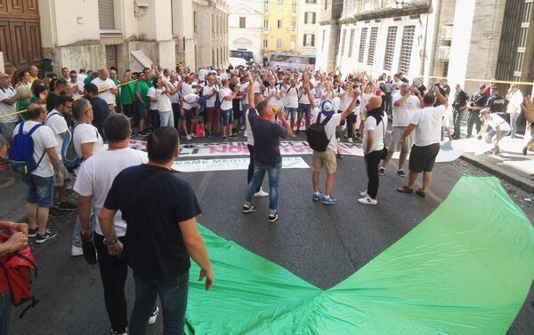 Protesty pracowników Whirlpool - Sputnik Polska