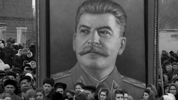 Kadr z filmu Pożegnanie ze Stalinem - Sputnik Polska