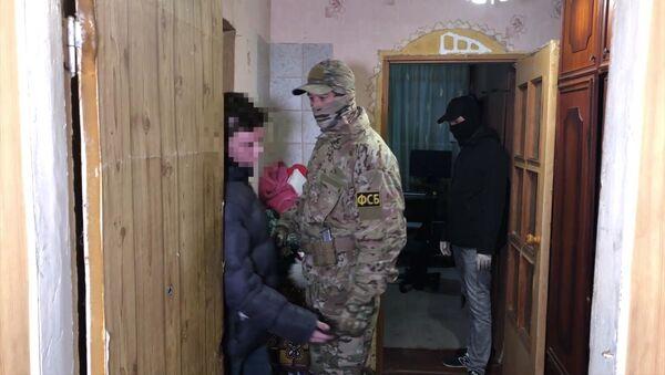FSB zatrzymało nieletnich w Kerczu przygotowujących zamachy terrorystyczne na terytorium Rosji - Sputnik Polska