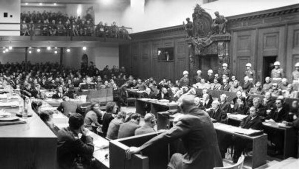 Międzynarodowy Trybunał Wojskowy w Norymberdze - Sputnik Polska