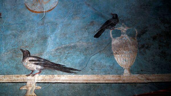 Fresk w Casa del Frutteto w Pompejach - Sputnik Polska