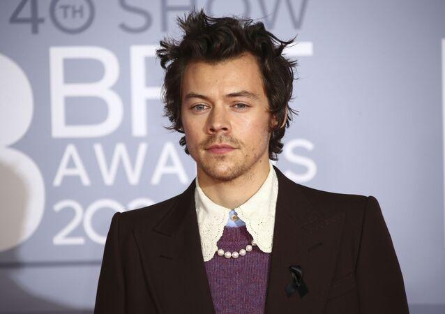 Brytyjski piosenkarz i aktor Harry Styles