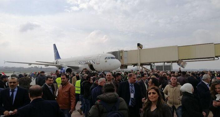 Otwarcie lotniska w Aleppo. Pierwszy od 8 lat lot z Damaszku