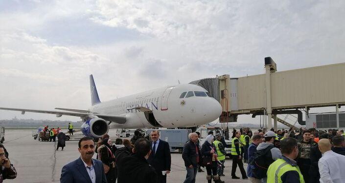 Ponowne otwarcie lotniska w Aleppo. Pierwszy od 8 lat lot z Damaszku