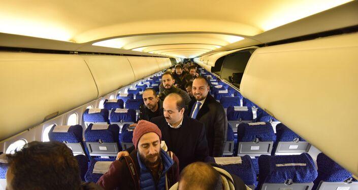 Pierwszy od 8 lat lot z Damaszku do Aleppo