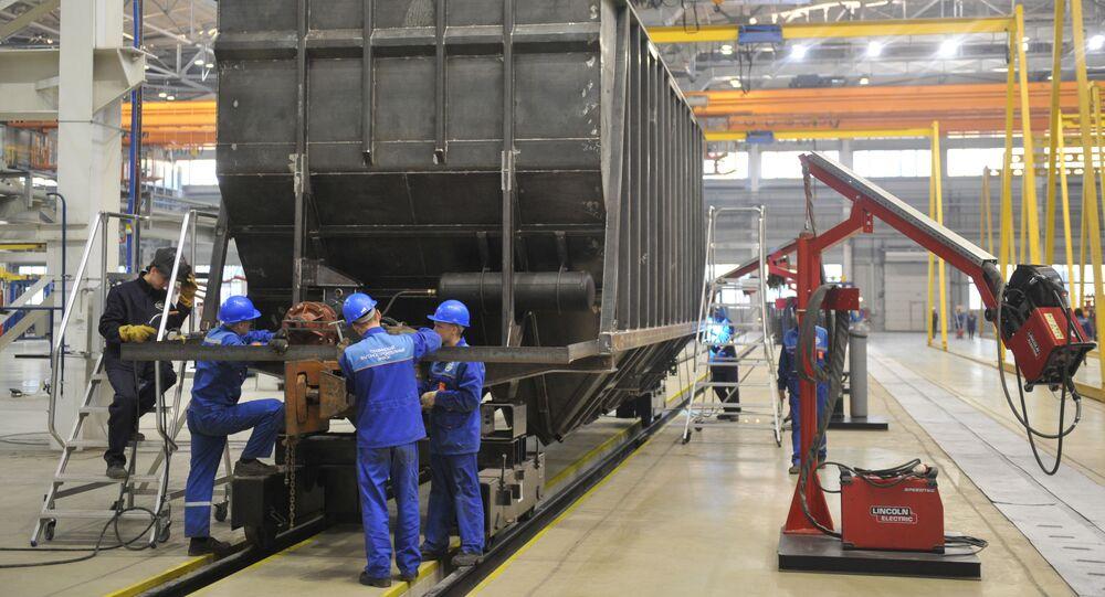 Zakłady produkcji wagonów w Tichwinie, Rosja