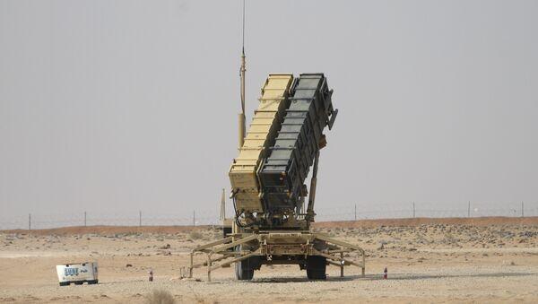 """System obrony przeciwrakietowej """"Patriot"""" w Arabii Saudyjskiej - Sputnik Polska"""