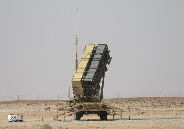 """System obrony przeciwrakietowej """"Patriot"""" w Arabii Saudyjskiej"""