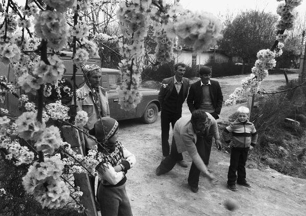 Etniczni Niemcy na wsi, Tadżycka Socjalistyczna Republika Radziecka, 1987 rok - Sputnik Polska