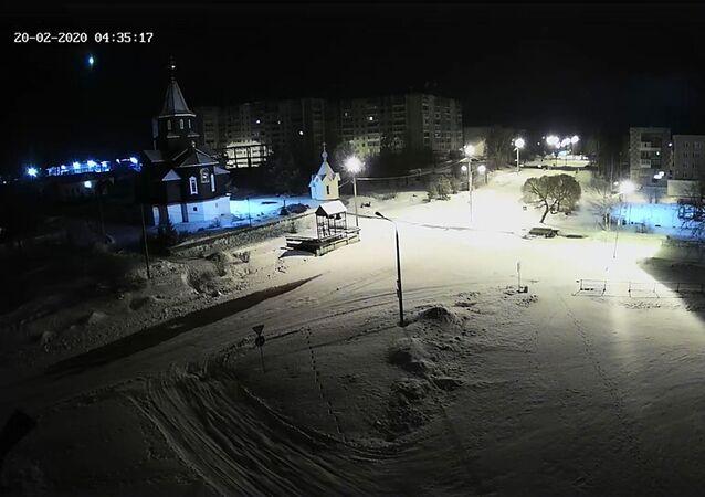 Lot meteorytu, Karelia