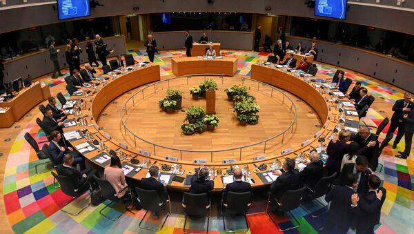 Przywódcy UE na szczycie w Brukseli. - Sputnik Polska
