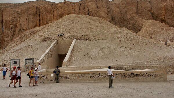 Grobowiec Tutanchamona w pobliżu miasta Luksor. - Sputnik Polska