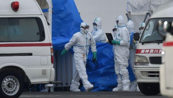 Epidemia koronawirusa w Azji. - Sputnik Polska