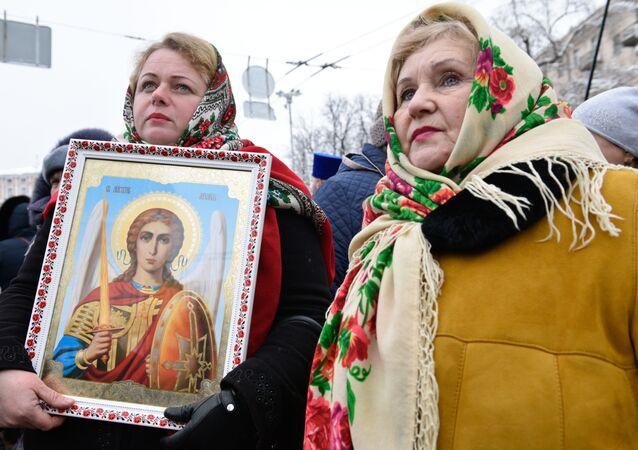 Prawosławni na Ukrainie