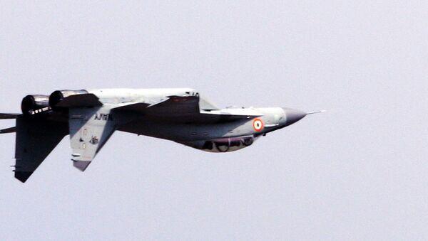 Indyjski MiG-29K. Zdjęcie archiwalne. - Sputnik Polska