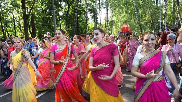 Festiwal hinduskiej kultury - Sputnik Polska