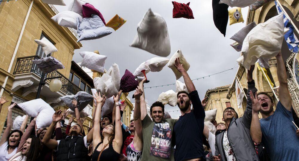 Bitwa na poduszki na Cyprze