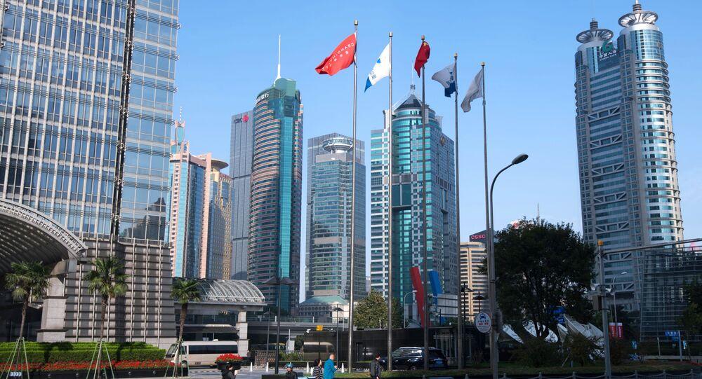 Dzielnica Pudong w Szanghaju