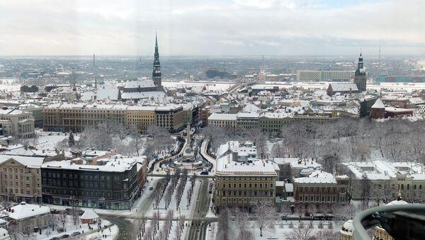 Panorama Rygi z tarasu widokowego - Sputnik Polska