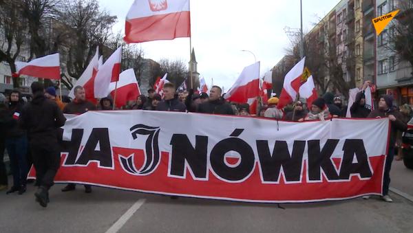 Marsz w Hajnówce - Sputnik Polska