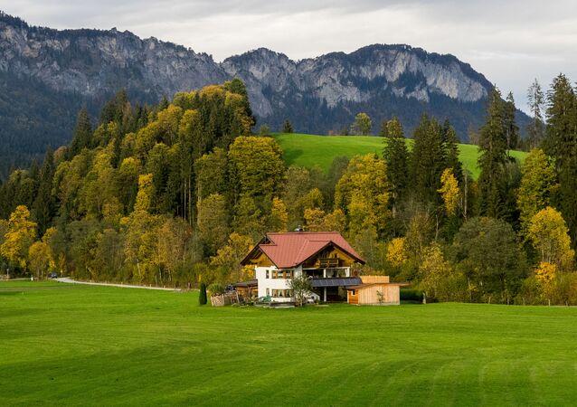 Austriacka część Alp, miasteczko Going