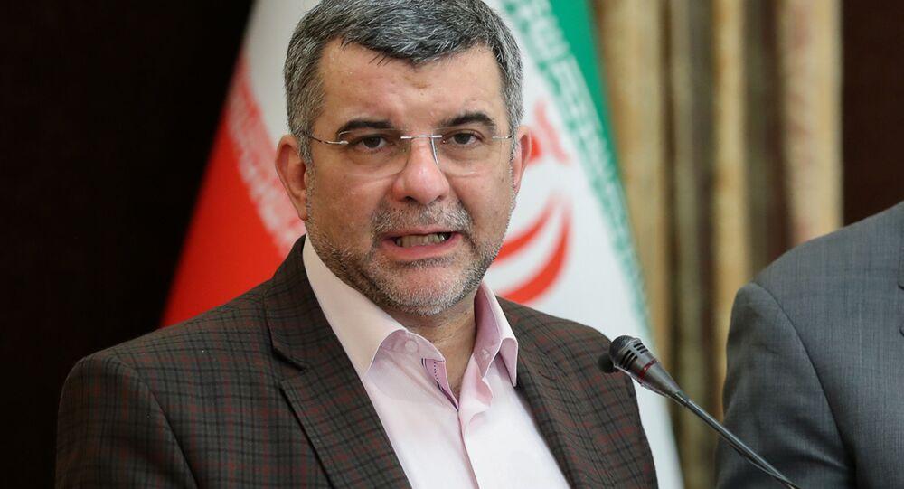 Wiceminister zdrowia Iranu Iradż Harirczi