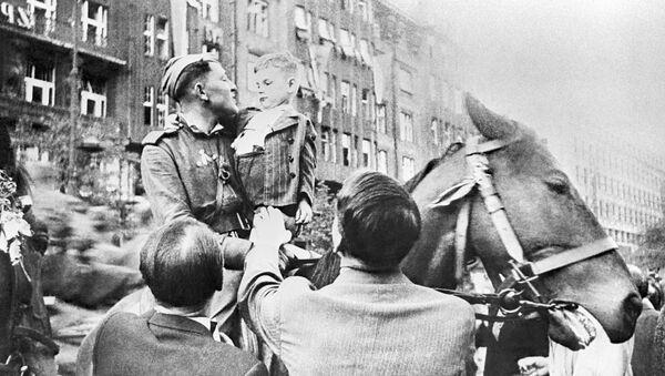 Armia Czerwona w Pradze - Sputnik Polska