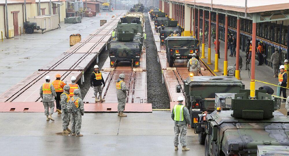 Amerykńska baza wojskowa Camp Carroll w Korei Południowej