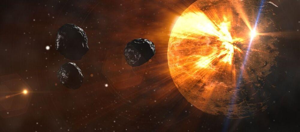 Asteroidy lecą w kierunku Ziemi