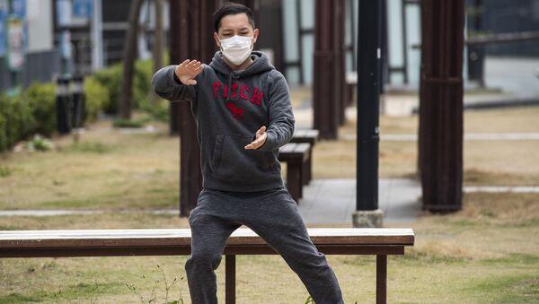 Sytuacja w Hongkongu podczas epidemii koronawirusa - Sputnik Polska