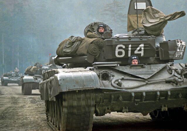 Odwrót wojsk radzieckich z Czechosłowacji w lutym 1990 roku