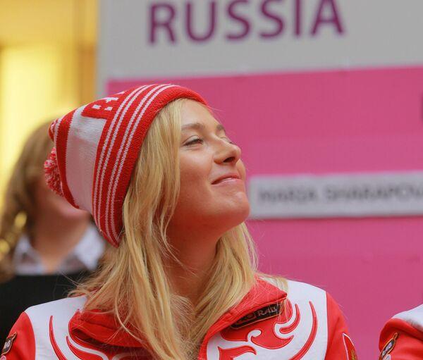 Marija Szarapowa w 2012 roku - Sputnik Polska