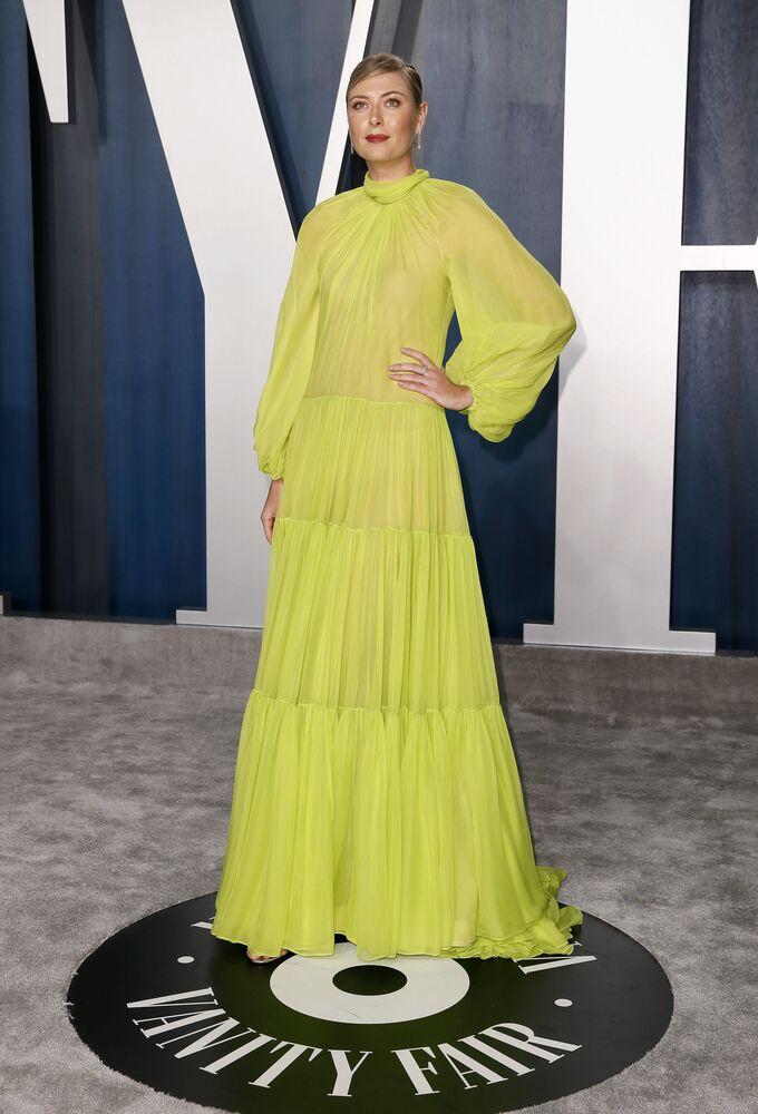 Marija podczas Vanity Fair Oscar Party w Kalifornii, 2020 rok