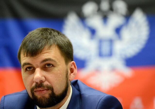 Oficjalny przedstawiciel DRL w grupie kontaktowej Denis Puszylin