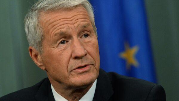 Sekretarz generalny Rady Europy Thorbjørn Jagland - Sputnik Polska