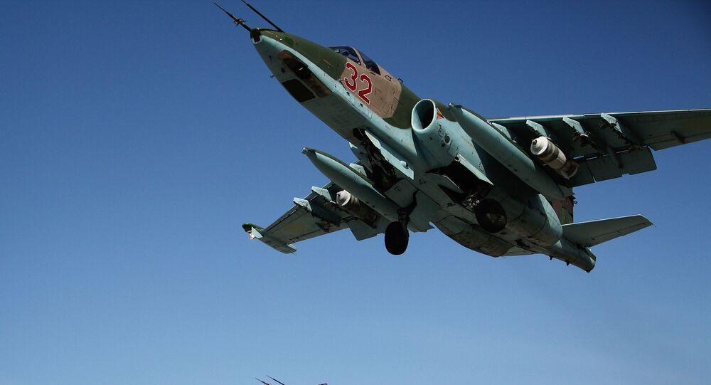 Rosyjskie myśliwce SU-25