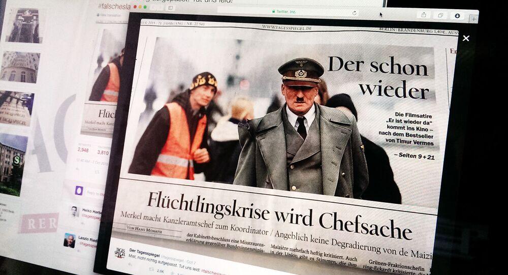 Gazeta niemiecka Der Tagesspiegel