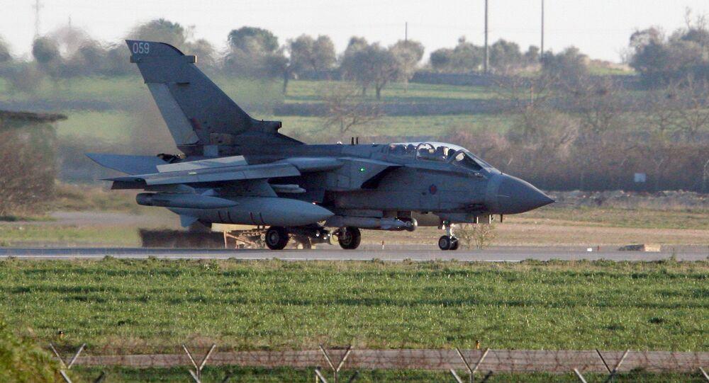 Brytyjski myśliwiec Tornado