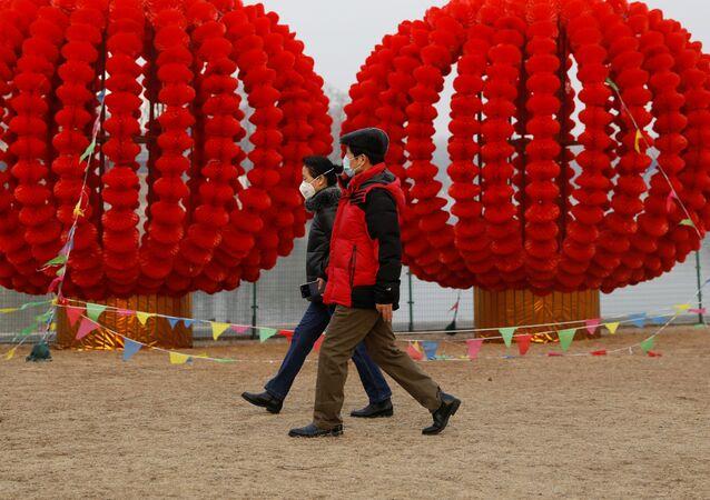 Pekin podczas epidemii koronawirusa