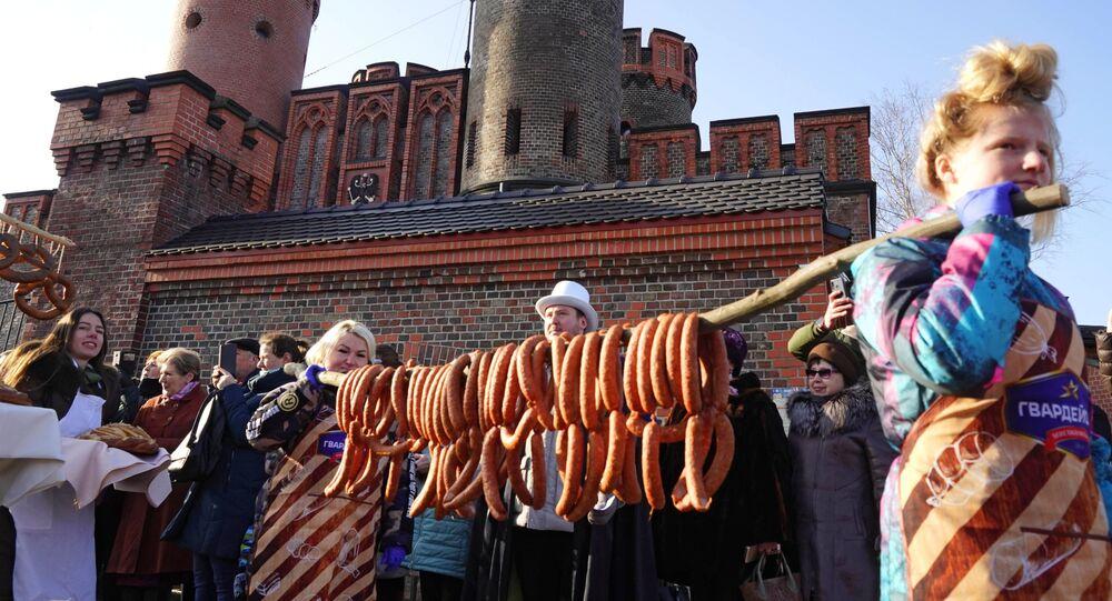 """""""Dzień długiej kiełbasy"""" w Kaliningradzie"""