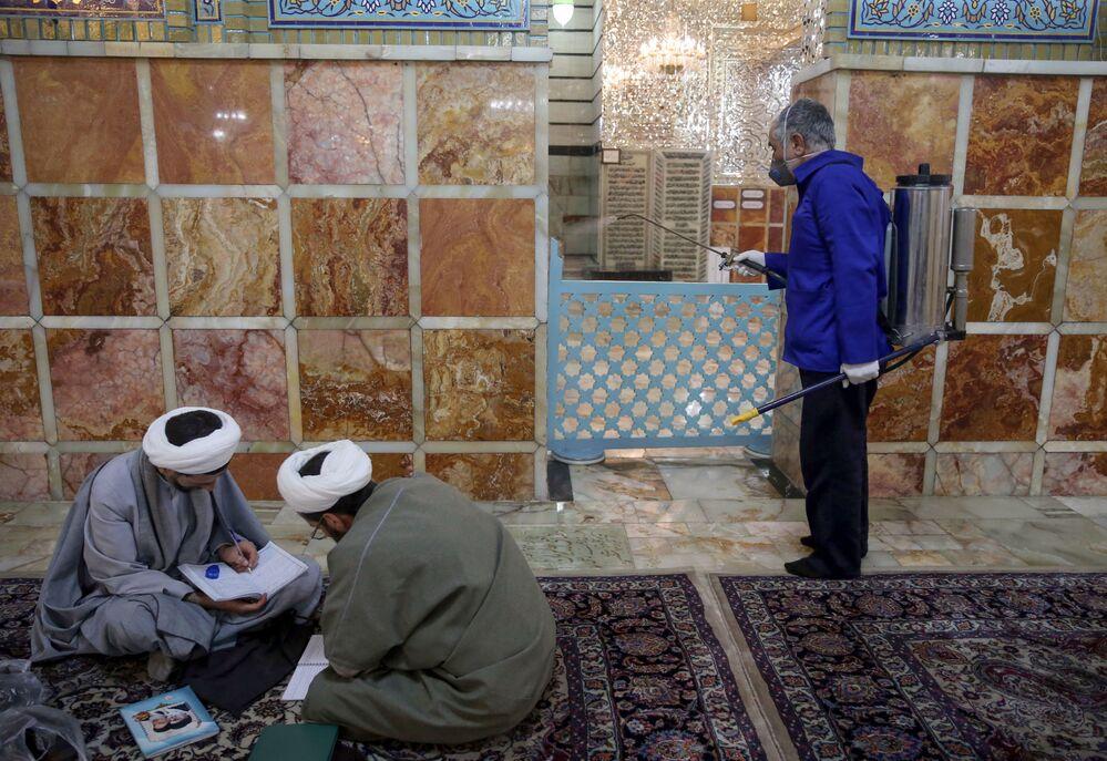 Dezynfekcja w Iranie