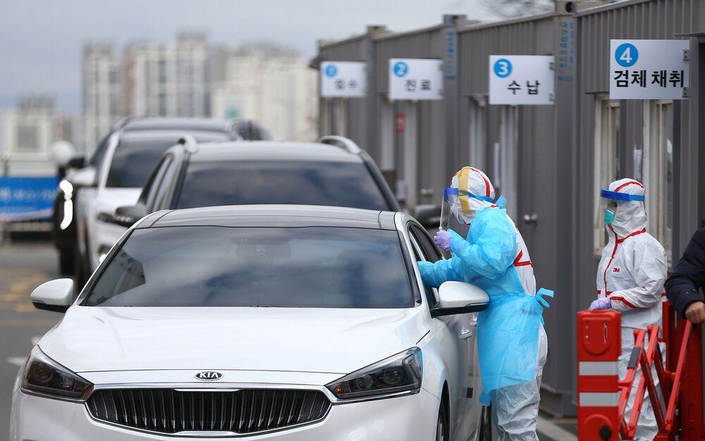 Dezynfekcja w Korei Południowej