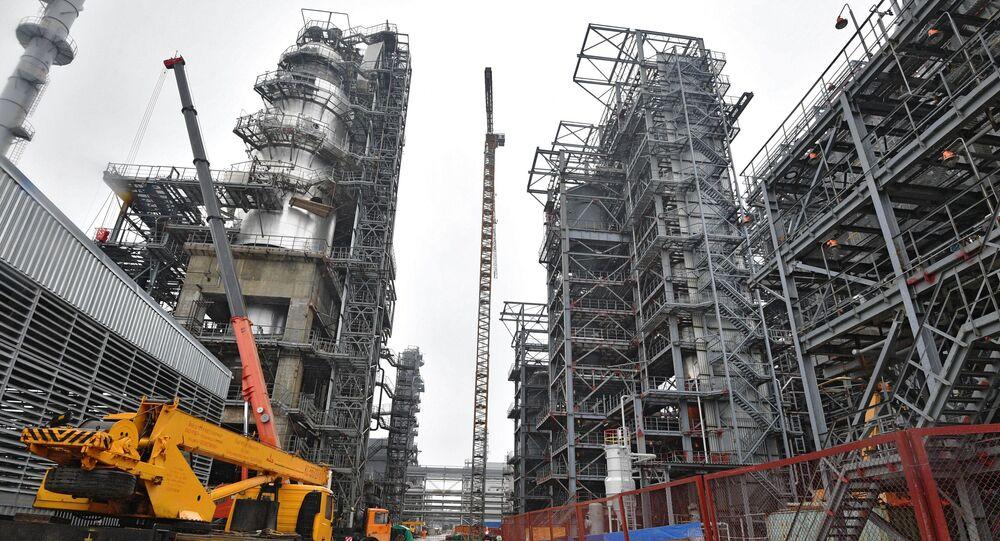 Mozyrska rafineria, Białoruś