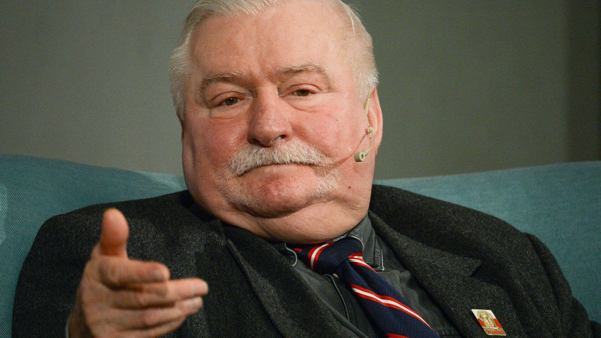 Były prezydent Polski Lech Wałęsa - Sputnik Polska, 1920, 15.03.2021