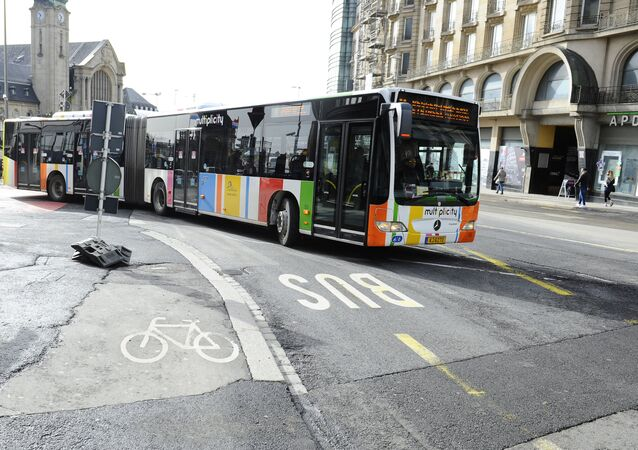 Autobus w Luksemburgu